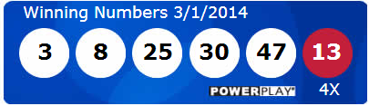 powerball winning lotto numbers saturday 1st march