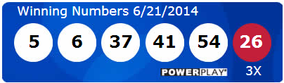 Powerball Lotto Results Saturday 21st June 2014
