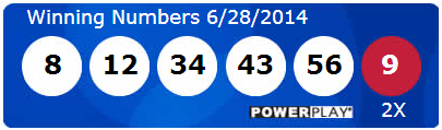 Powerball Lotto Results Saturday 28th June 2014