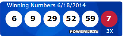 Powerball Lotto Results Wednesday 18th June 2014