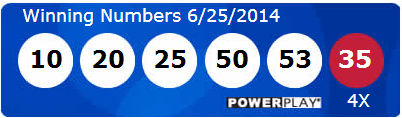 Powerball Lotto Results Wednesday 25th June 2014