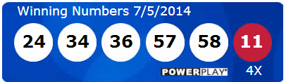Powerball Lotto Results Saturday 5th July 2014