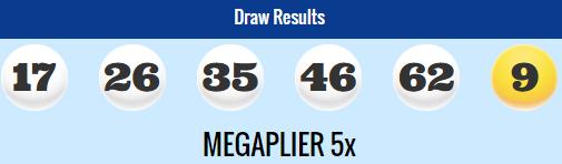 Megamillions Lotto Results Friday 26th September 2014