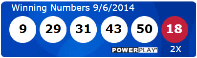 Powerball Lotto Results Saturday 6th September 2014