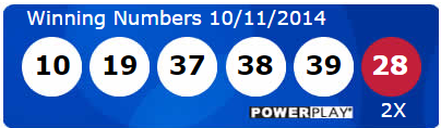 Powerball Lotto Results Saturday 11th October 2014