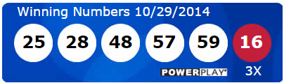 Powerball Lotto Results Wednesday 29th October 2014