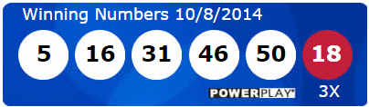 Powerball Lotto Results Wednesday 8th October 2014