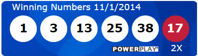Powerball Lotto Results Saturday 1st November 2014