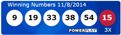 Powerball Lotto Results Saturday 8th November 2014