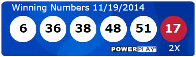 Powerball Lotto Results Wednesday 19th November 2014