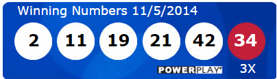 Powerball Lotto Results Wednesday 5th November 2014