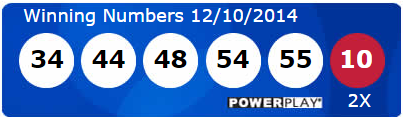 Powerball Lotto Results Wednesday 10th December 2014