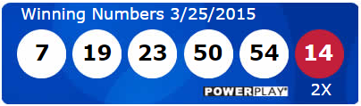 Powerball Lotto Results Wednesday 25th March 2015