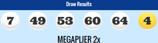 USA Megamillions Lotto Results Friday 27th February 2015