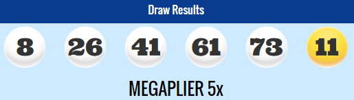 USA Megamillions Lotto Results Tuesday 31st March 2015