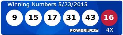 Powerball Lotto Results Saturday 23rd May 2015