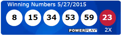 Powerball Lotto Results Wednesday 27th May 2015