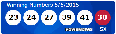 Powerball Lotto Results Wednesday 6th May 2015
