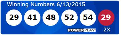 USA Powerball Lotto Results Saturday 13th June 2015