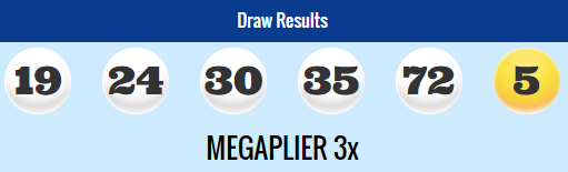 USA Megamillions Lotto Results Tuesday 14th July 2015