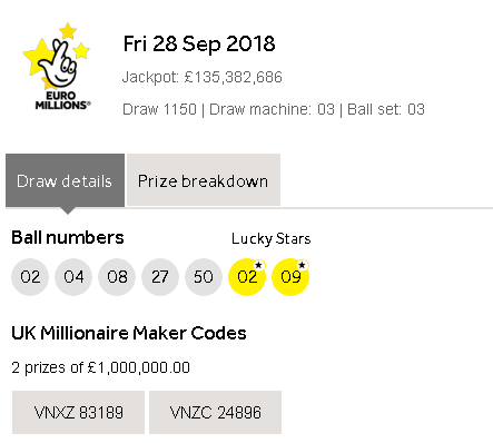 euromillions result friday - photo #34