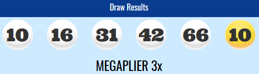 Megamillions Lotto Winning Numbers Tuesday 20th November 2018