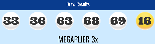 USA Megamillions Lottery Results Friday 16th November 2018