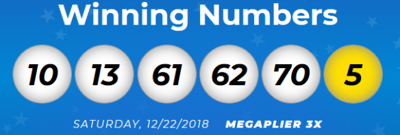 December   2018   Lotto Results and Winning Numbers