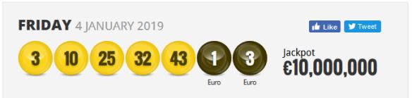 Eurojackpot 6.12 19